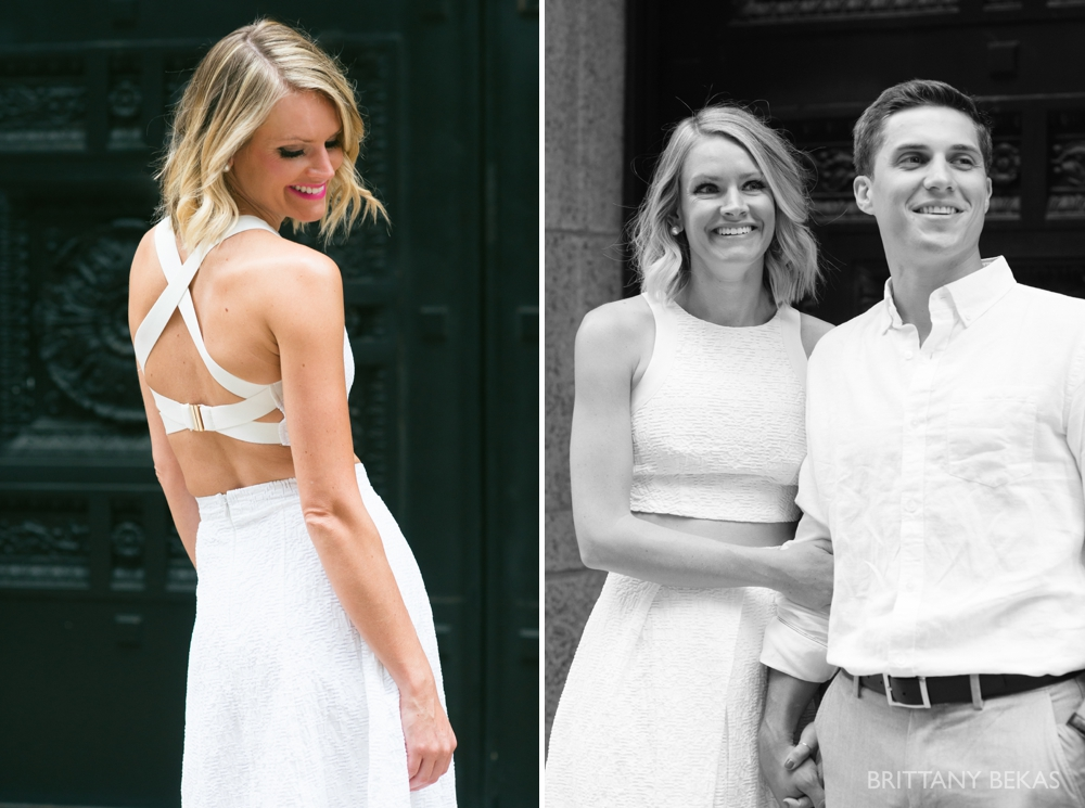 Chicago Engagement - Chicago Board of Trade Engagement Photos - Brittany Bekas Photography_0007