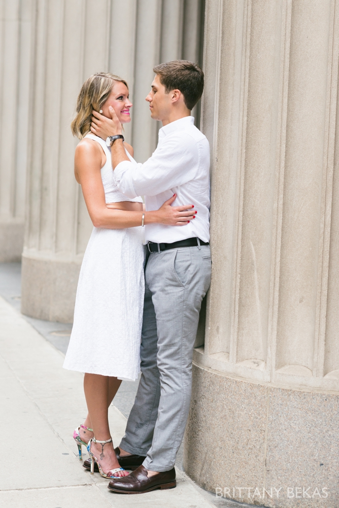 Chicago Engagement - Chicago Board of Trade Engagement Photos - Brittany Bekas Photography_0008