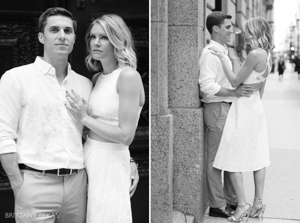 Chicago Engagement - Chicago Board of Trade Engagement Photos - Brittany Bekas Photography_0009