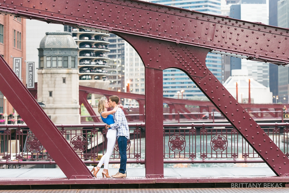 Chicago Engagement - Chicago Board of Trade Engagement Photos - Brittany Bekas Photography_0013