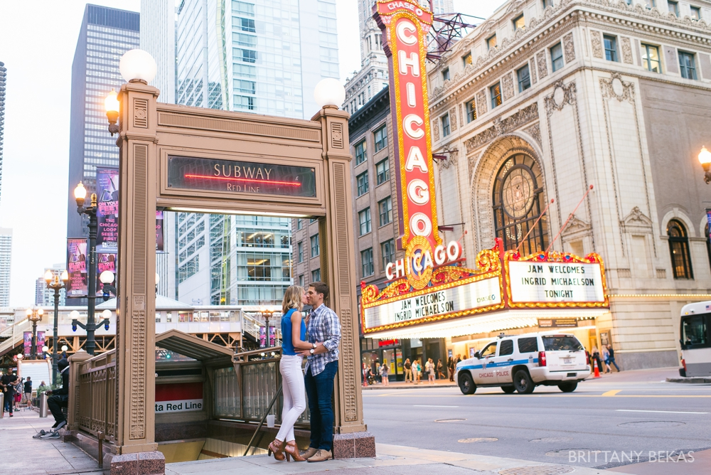 Chicago Engagement - Chicago Board of Trade Engagement Photos - Brittany Bekas Photography_0017