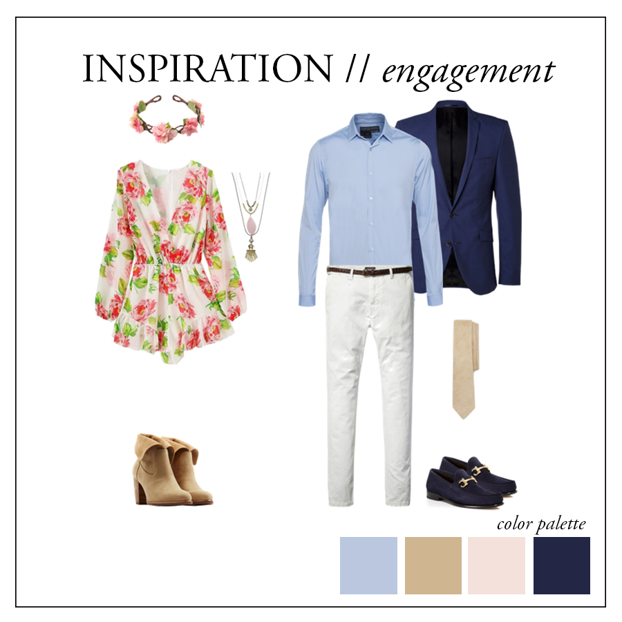 what to wear for summer engagement photos