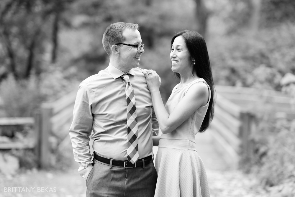 Chicago Wedding Photographer - Graue Mill Engagement Photos - Brittany Bekas Photography_0002