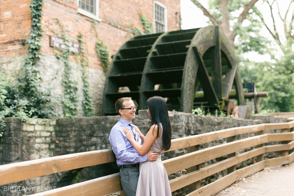 Chicago Wedding Photographer - Graue Mill Engagement Photos - Brittany Bekas Photography_0009