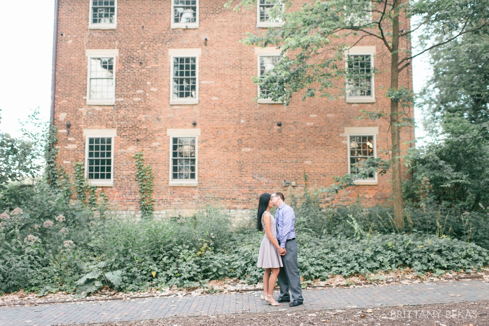 Chicago Wedding Photographer - Graue Mill Engagement Photos - Brittany Bekas Photography_0018