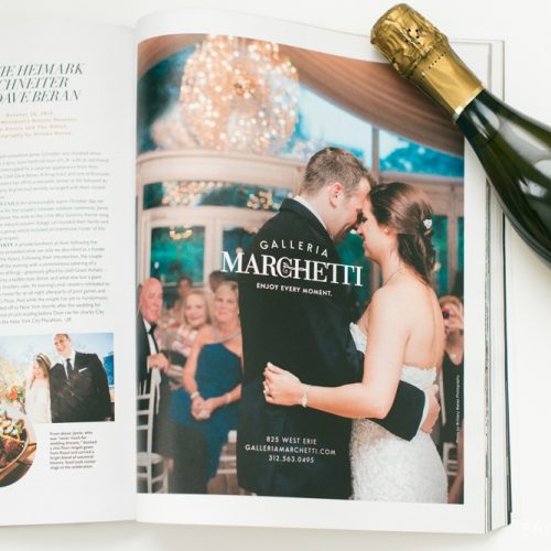 FEATURED : CS BRIDES + GALLERIA MARCHETTI WEDDING