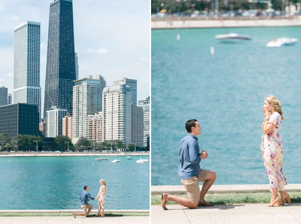 Chicago Proposal Photography - Chicago Engagement Photos_0002