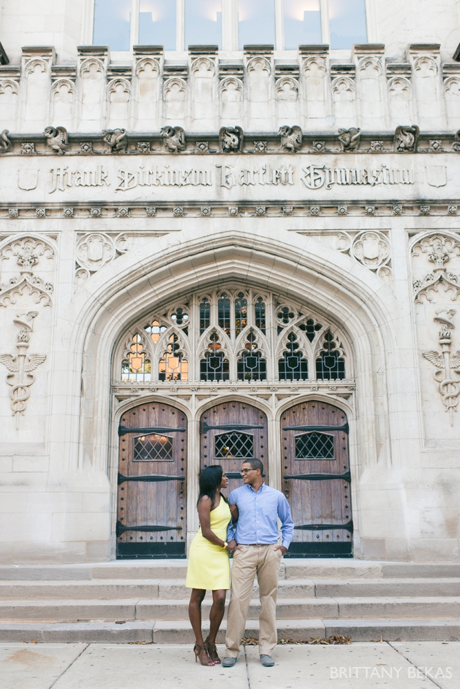 University of Chicago Engagement Photos - Chicago Engagement_0028