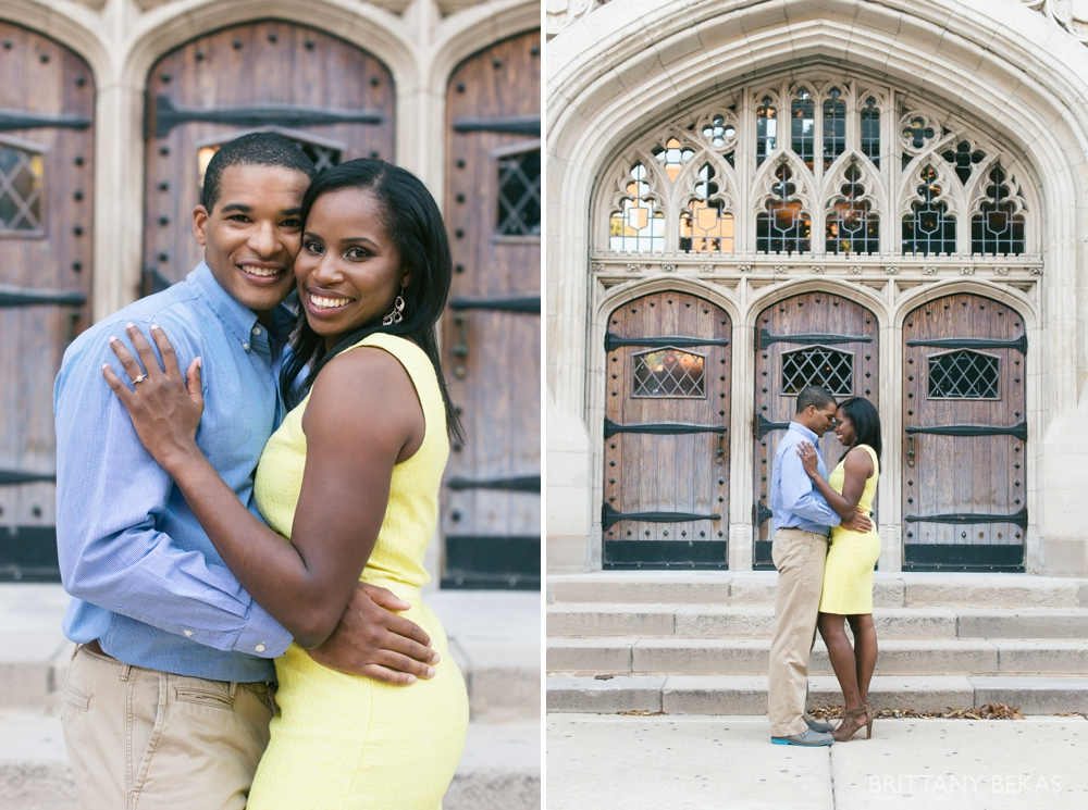 University of Chicago Engagement Photos - Chicago Engagement_0029