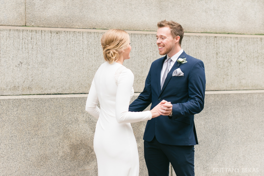 Chicago Wedding - Chicago Courthouse + Chicago Loft Wedding Photos_0003