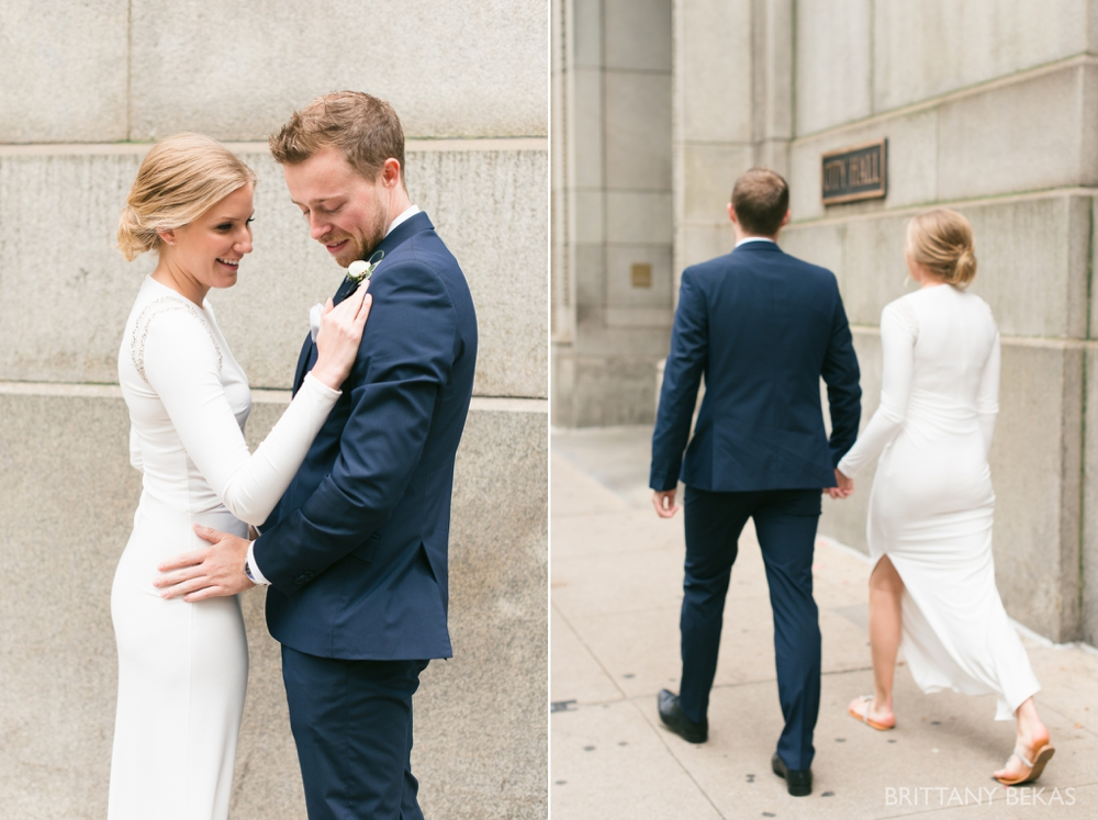 Chicago Wedding - Chicago Courthouse + Chicago Loft Wedding Photos_0005