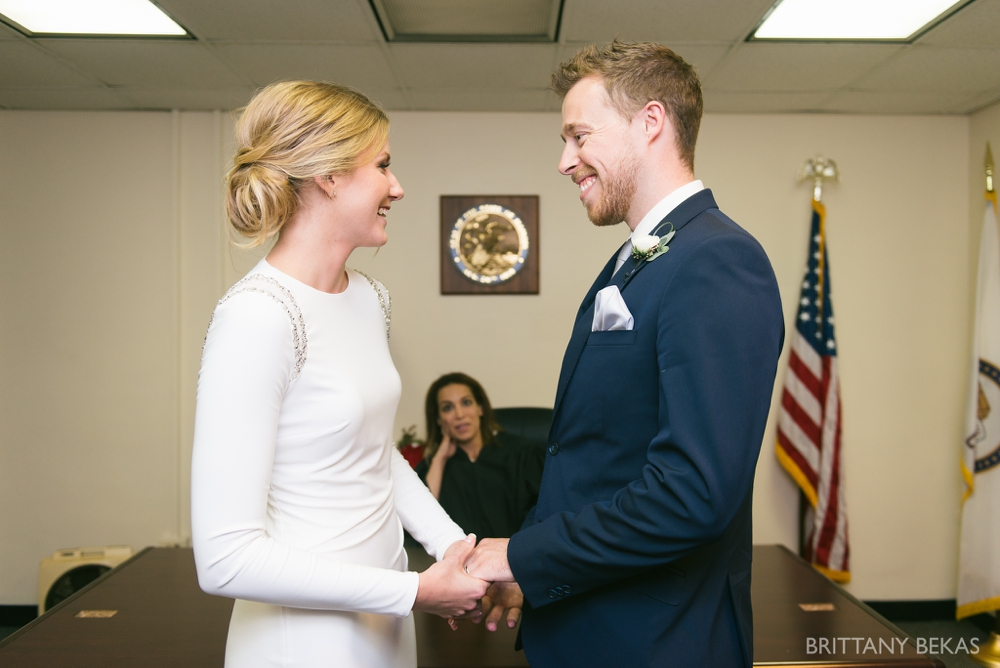 Chicago Wedding - Chicago Courthouse + Chicago Loft Wedding Photos_0007