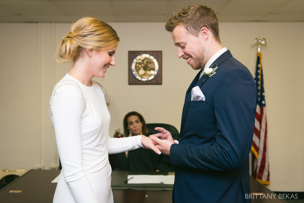 Chicago Wedding - Chicago Courthouse + Chicago Loft Wedding Photos_0008