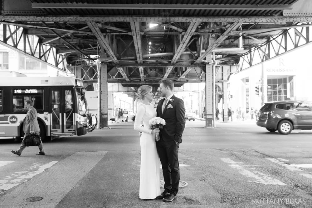Chicago Wedding - Chicago Courthouse + Chicago Loft Wedding Photos_0027
