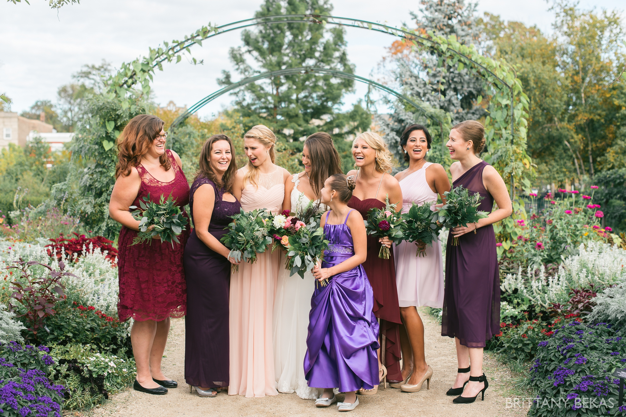 Chicago Wedding Garfield Park Conservatory Wedding Photos - Brittany Bekas Photography_0029