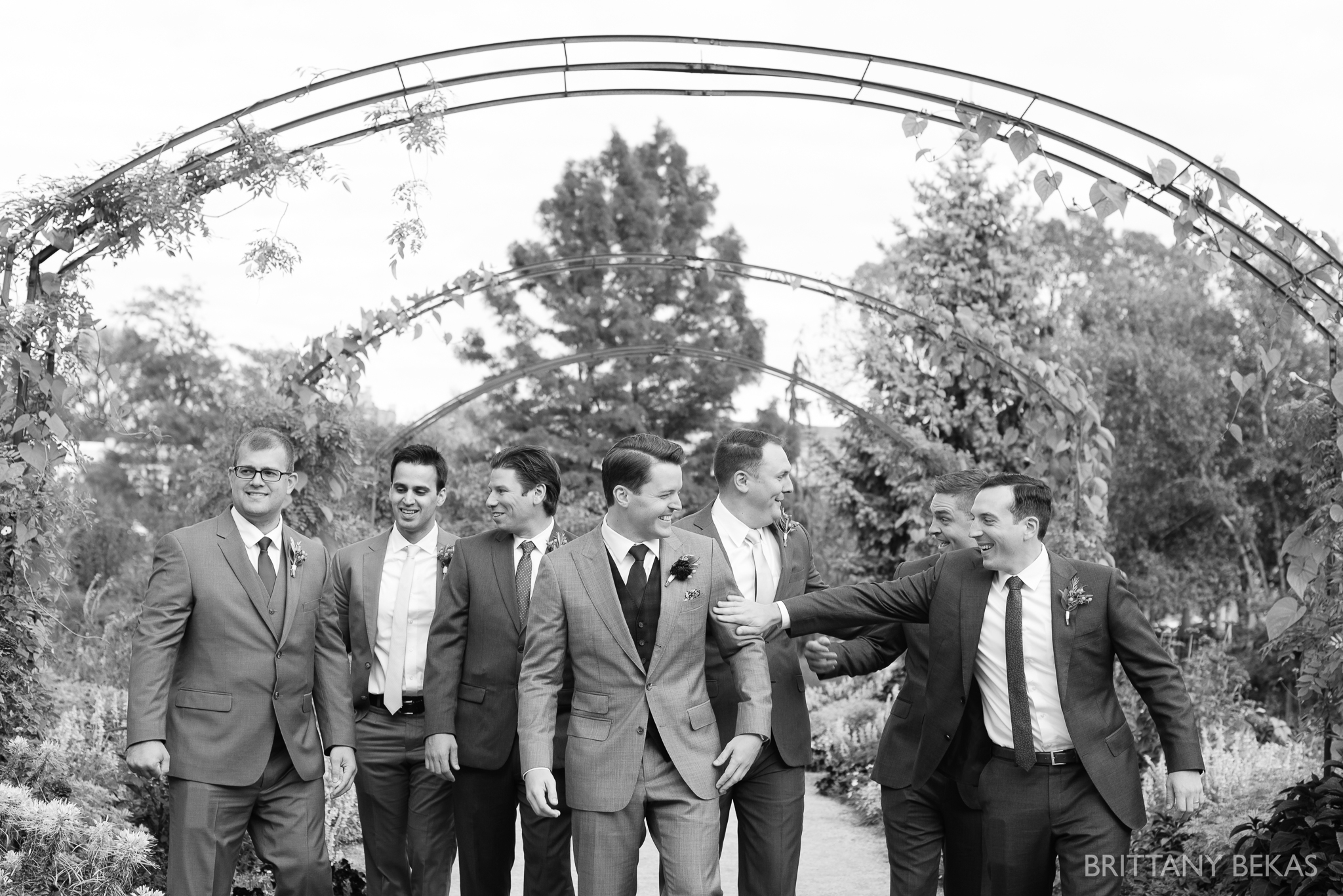 Chicago Wedding Garfield Park Conservatory Wedding Photos - Brittany Bekas Photography_0030