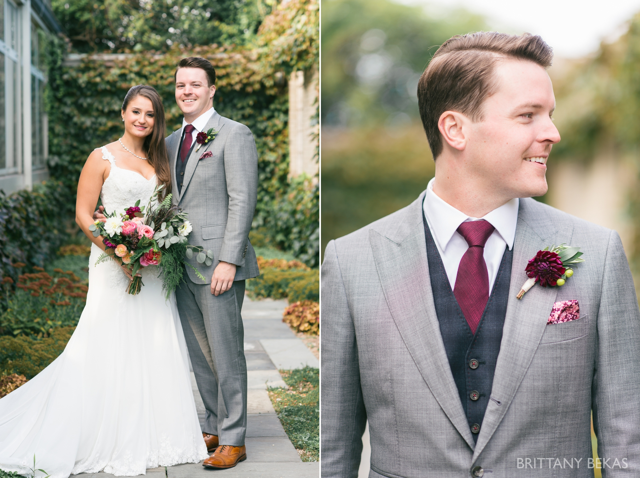 Chicago Wedding Garfield Park Conservatory Wedding Photos - Brittany Bekas Photography_0039