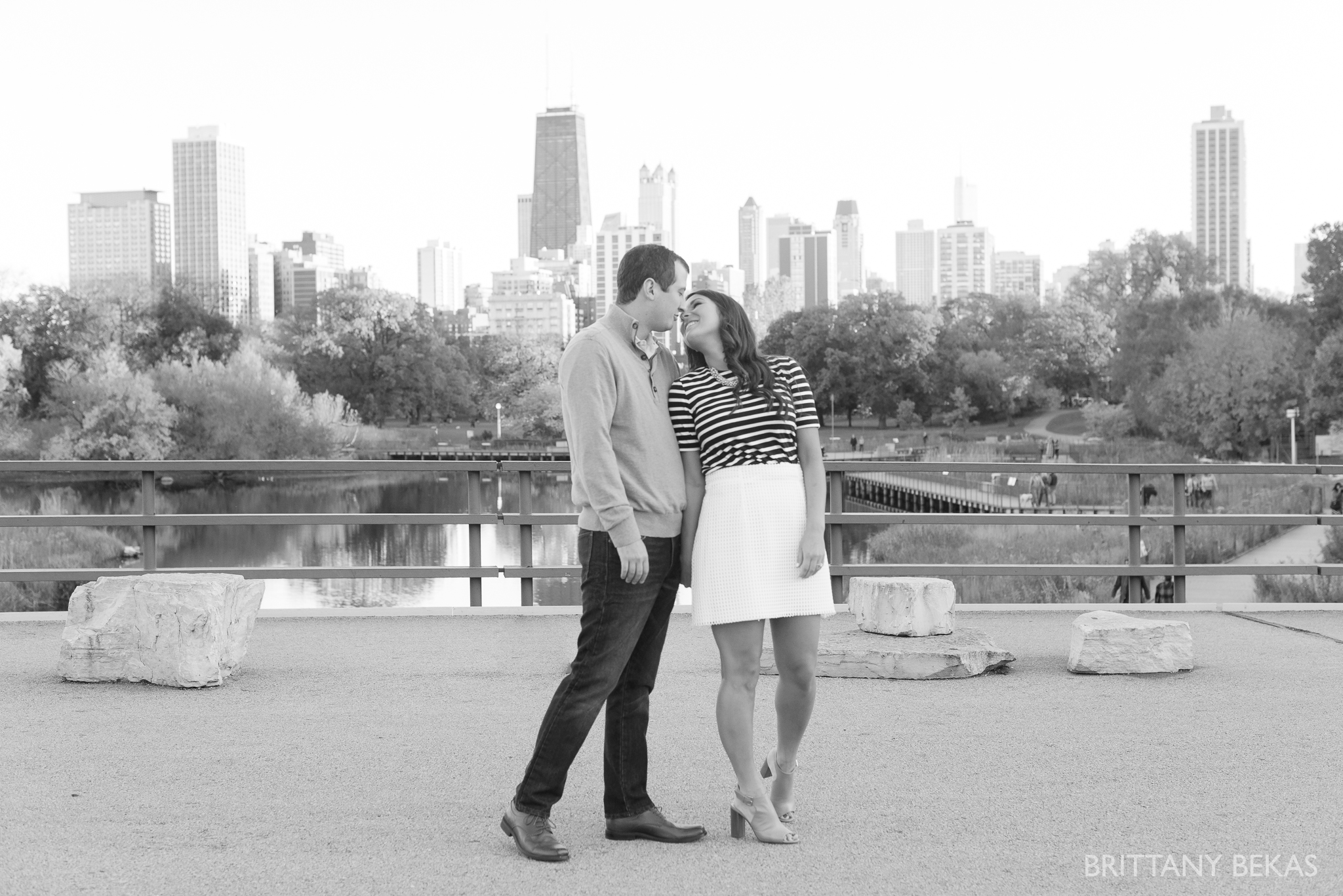 Chicago Engagement Lincoln Park Engagement Photos - Brittany Bekas Photography_0033