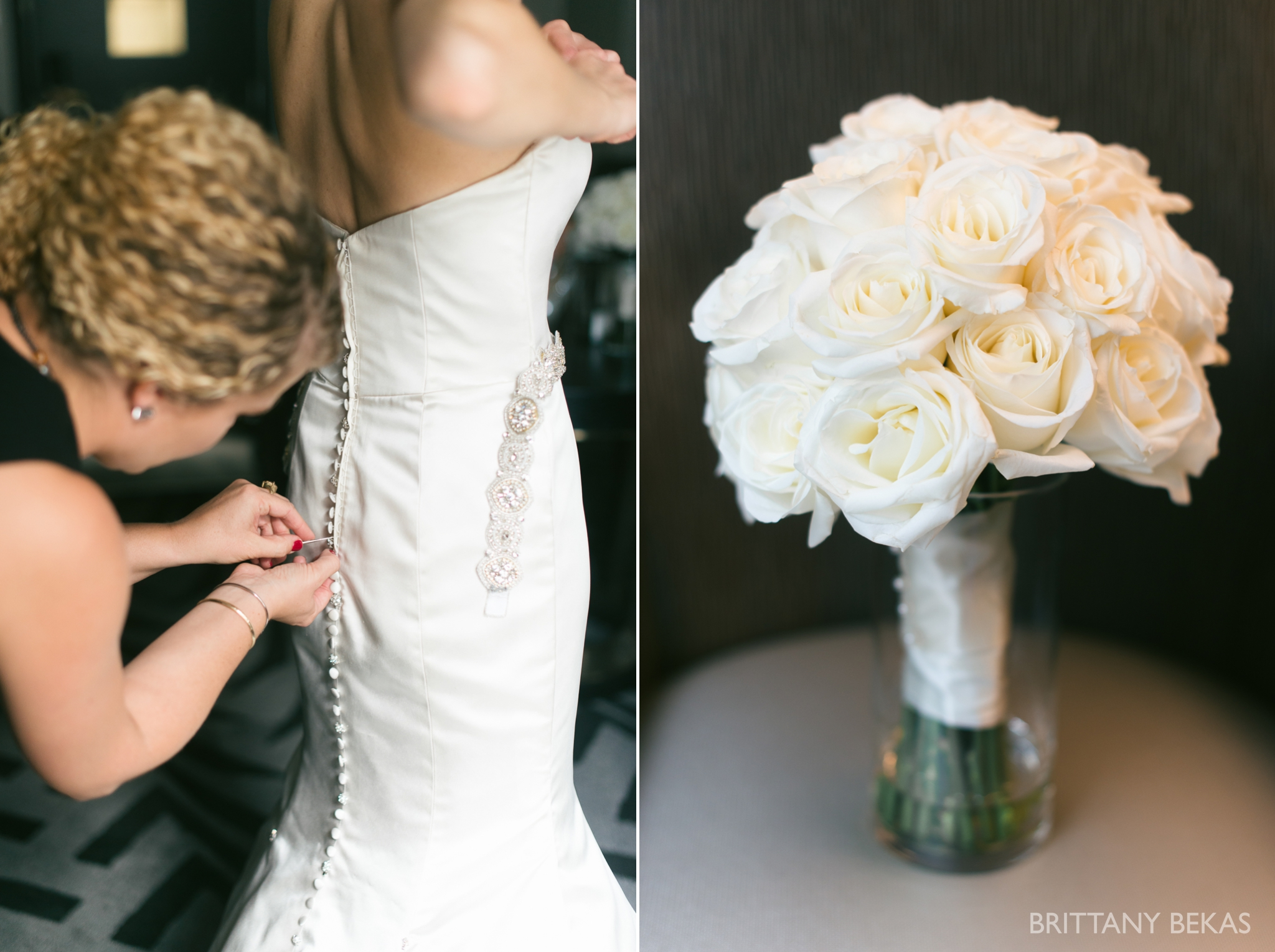 Chicago Wedding Hotel Allegro Wedding Photos - Brittany Bekas Photography_0001