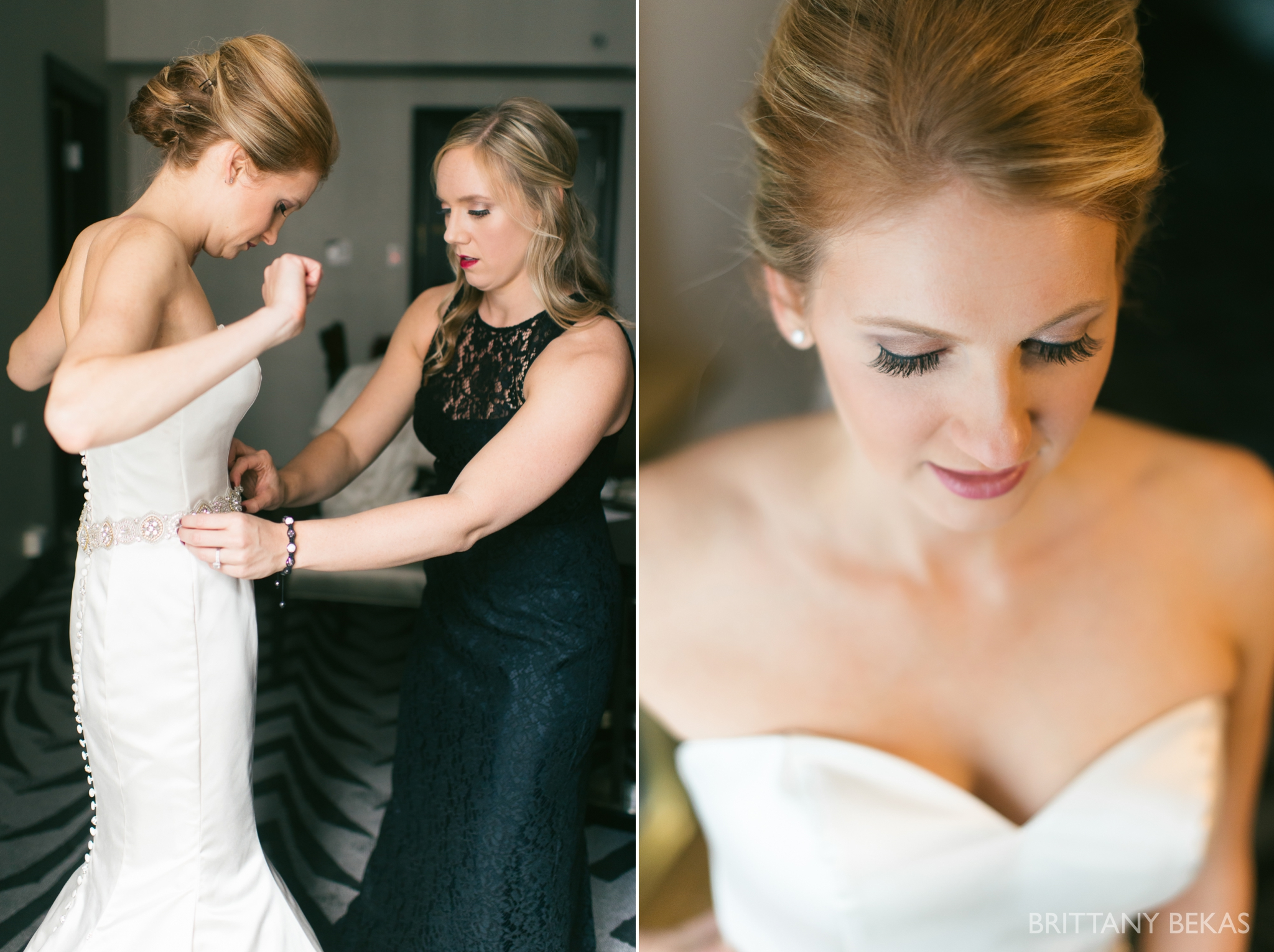 Chicago Wedding Hotel Allegro Wedding Photos - Brittany Bekas Photography_0004