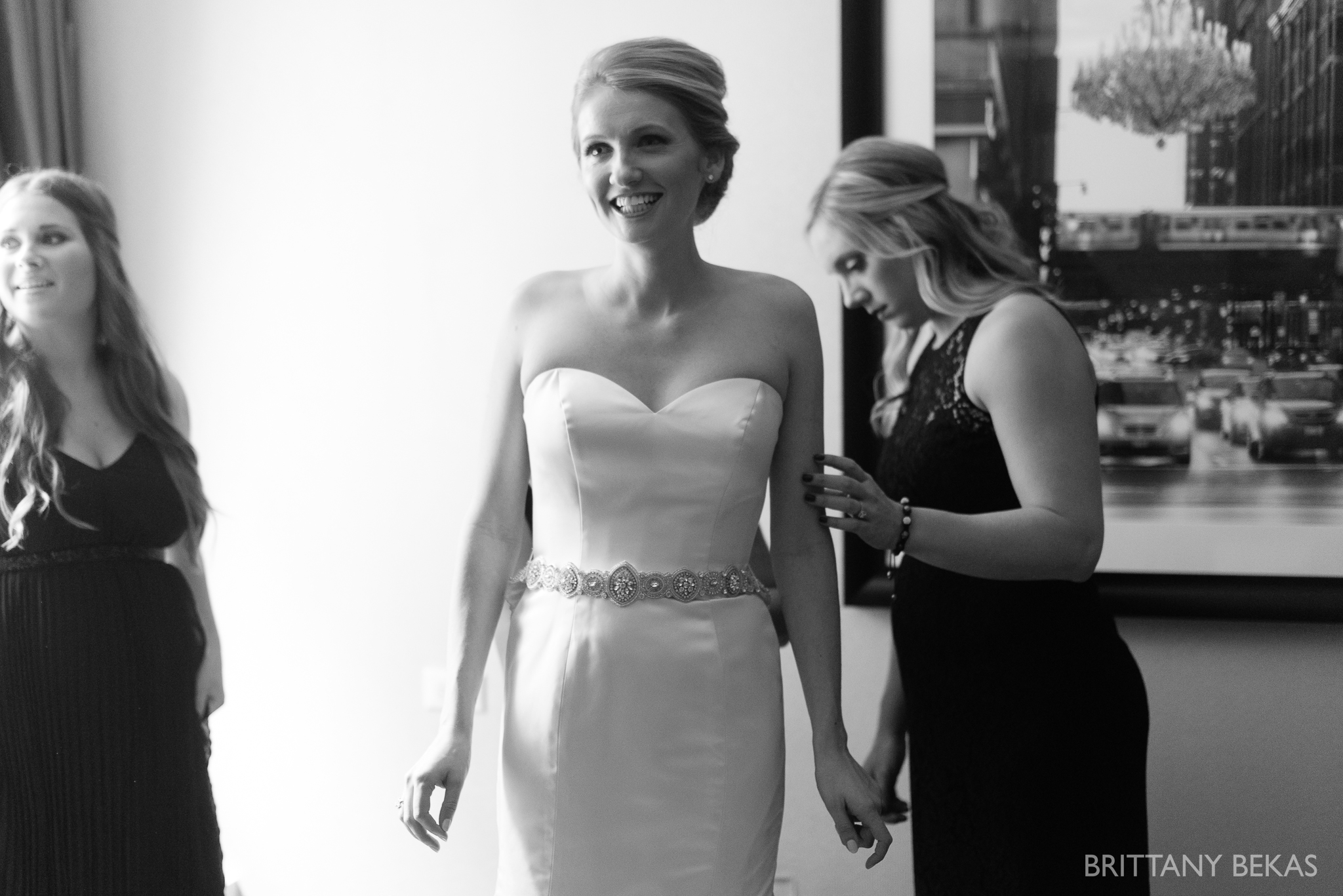 Chicago Wedding Hotel Allegro Wedding Photos - Brittany Bekas Photography_0007