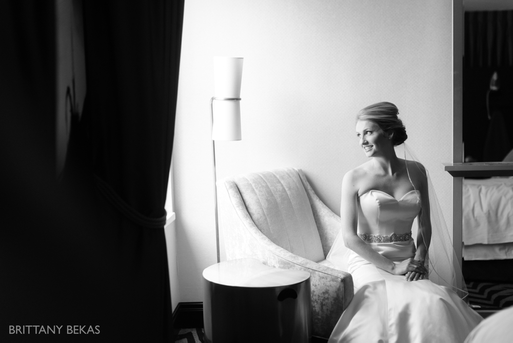 Chicago Wedding Hotel Allegro Wedding Photos - Brittany Bekas Photography_0008