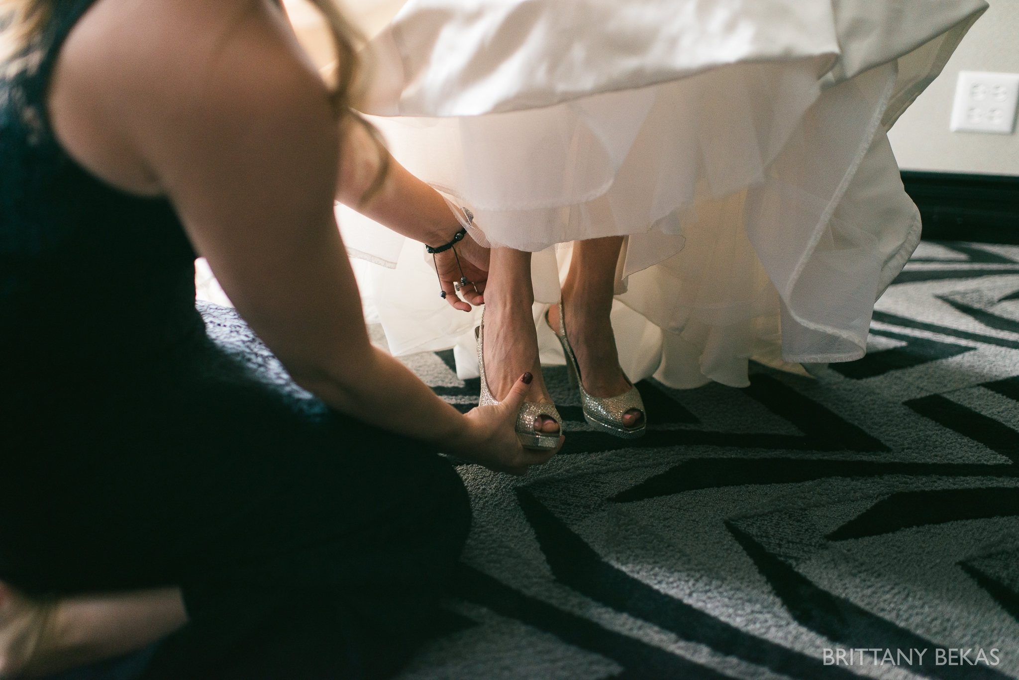 Chicago Wedding Hotel Allegro Wedding Photos - Brittany Bekas Photography_0009