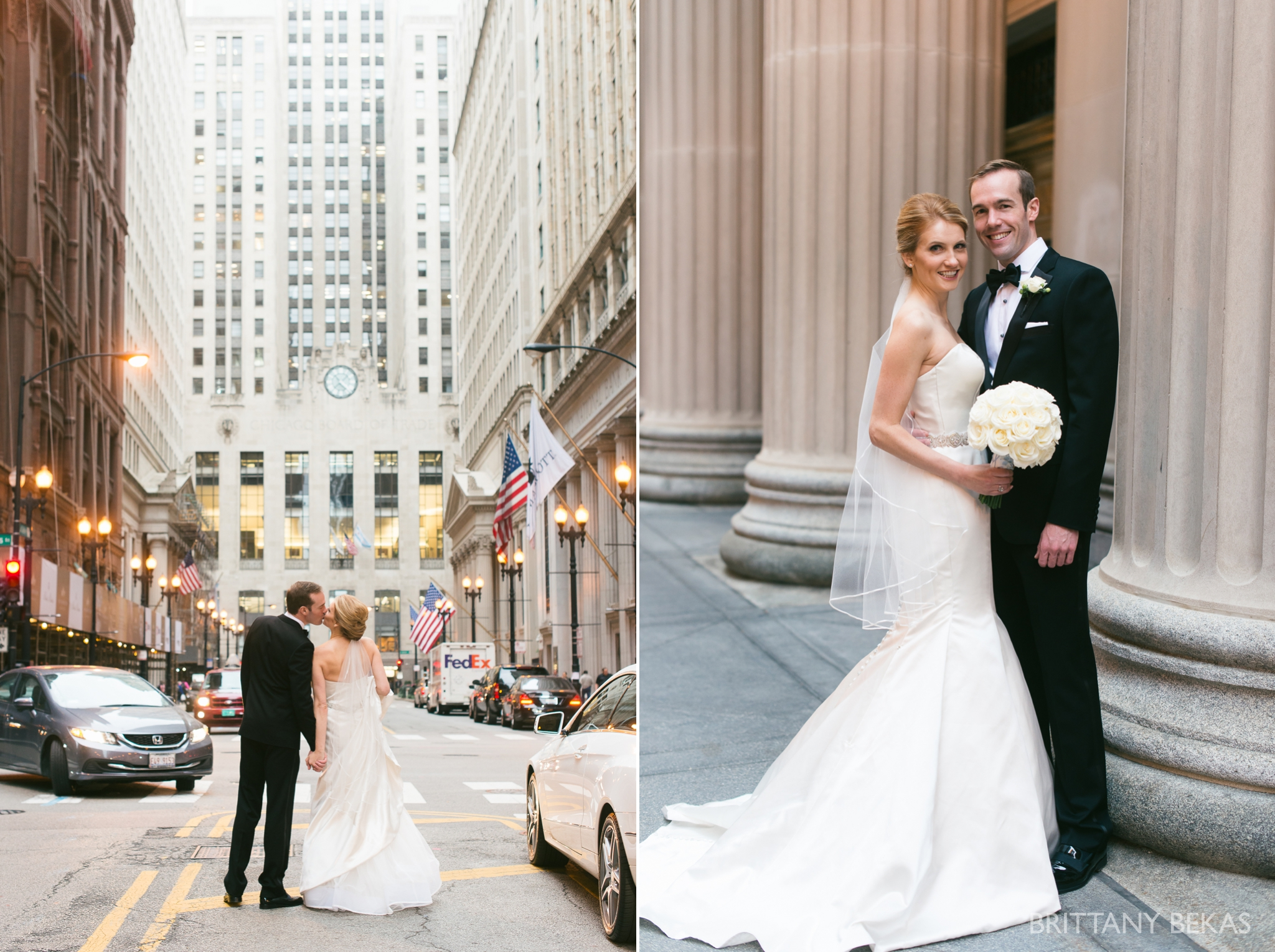 Chicago Wedding Hotel Allegro Wedding Photos - Brittany Bekas Photography_0016