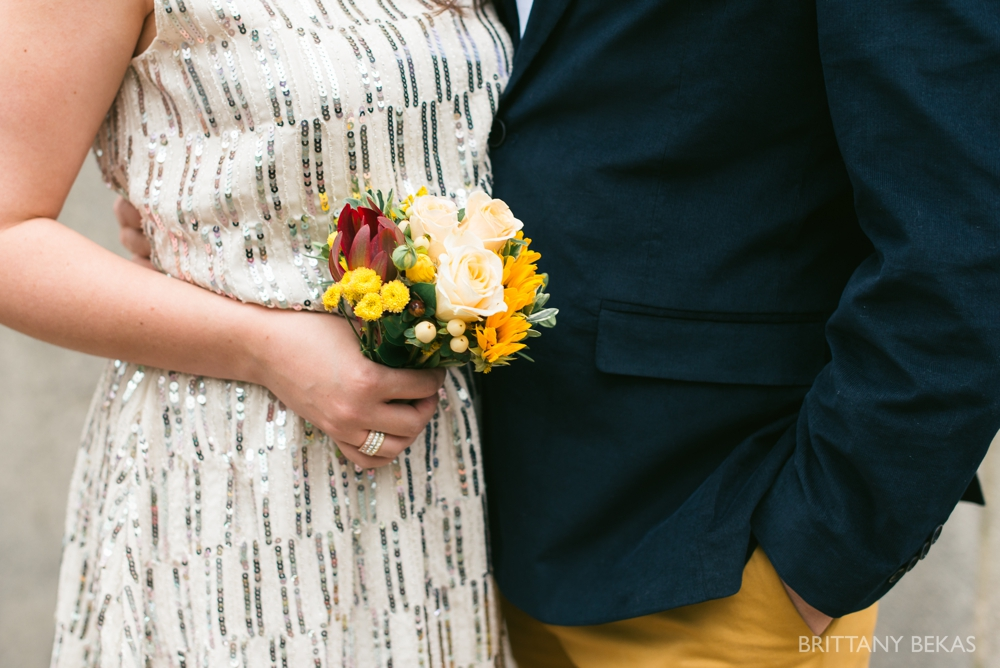 Chicago Elopement - Chicago City Hall + Lurie Garden Elopement Photos_0001