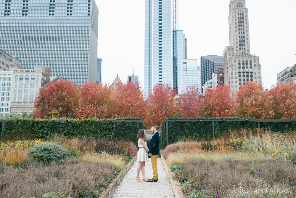 Chicago Elopement - Chicago City Hall + Lurie Garden Elopement Photos_0007