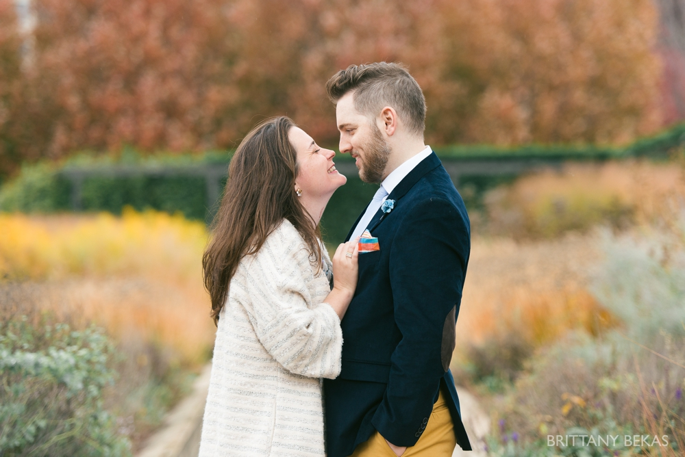 Chicago Elopement - Chicago City Hall + Lurie Garden Elopement Photos_0017