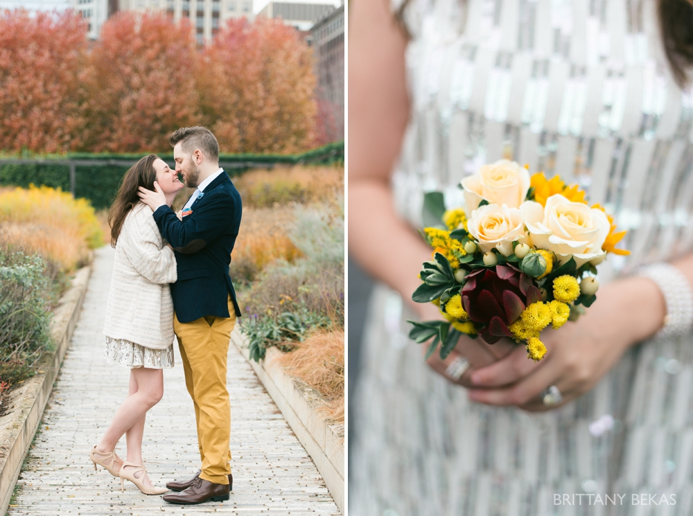 Chicago Elopement - Chicago City Hall + Lurie Garden Elopement Photos_0018
