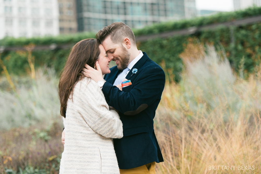 Chicago Elopement - Chicago City Hall + Lurie Garden Elopement Photos_0019