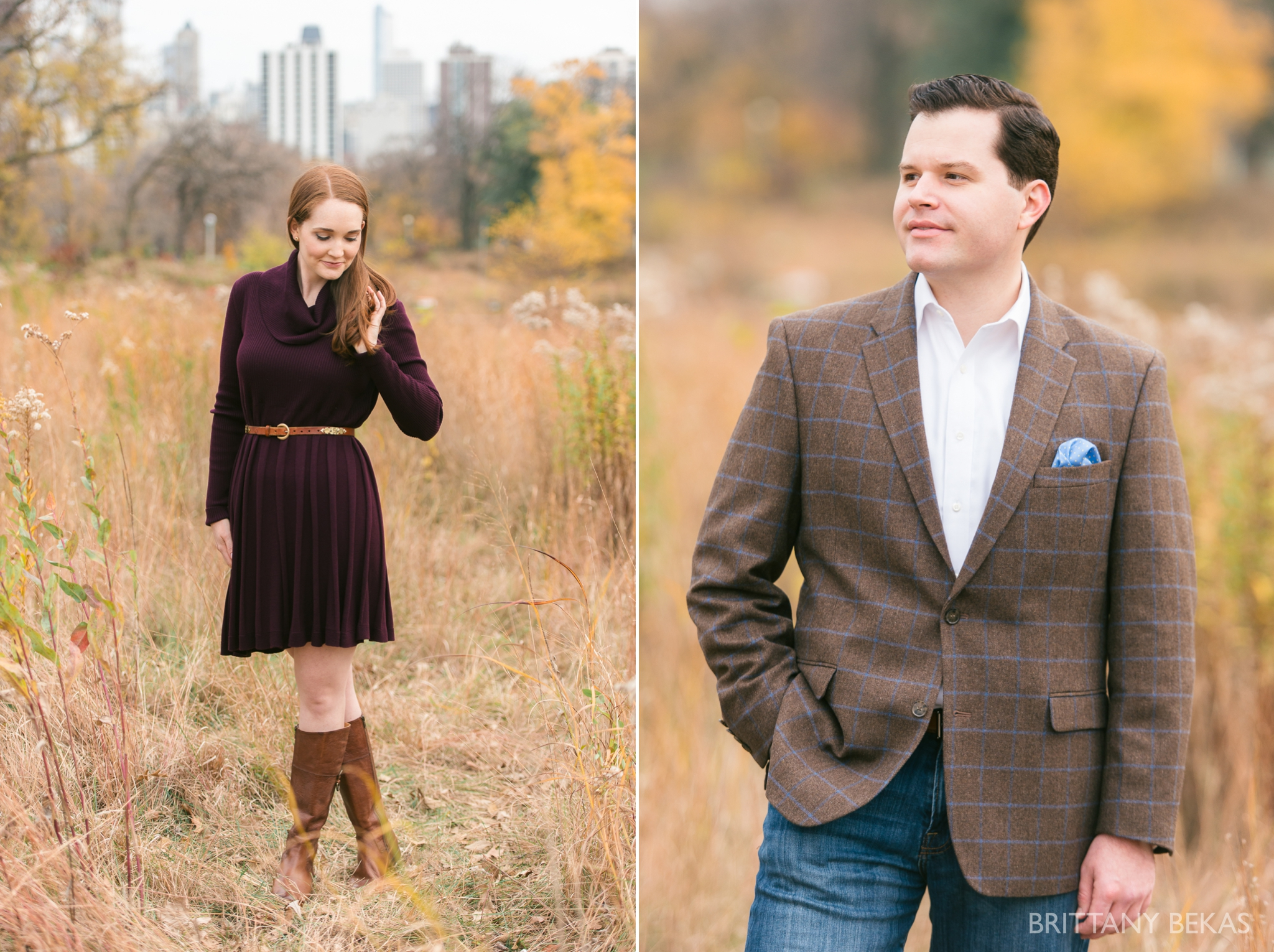 Chicago Engagement Lincoln Park Engagement Photos - Brittany Bekas Photography_0015