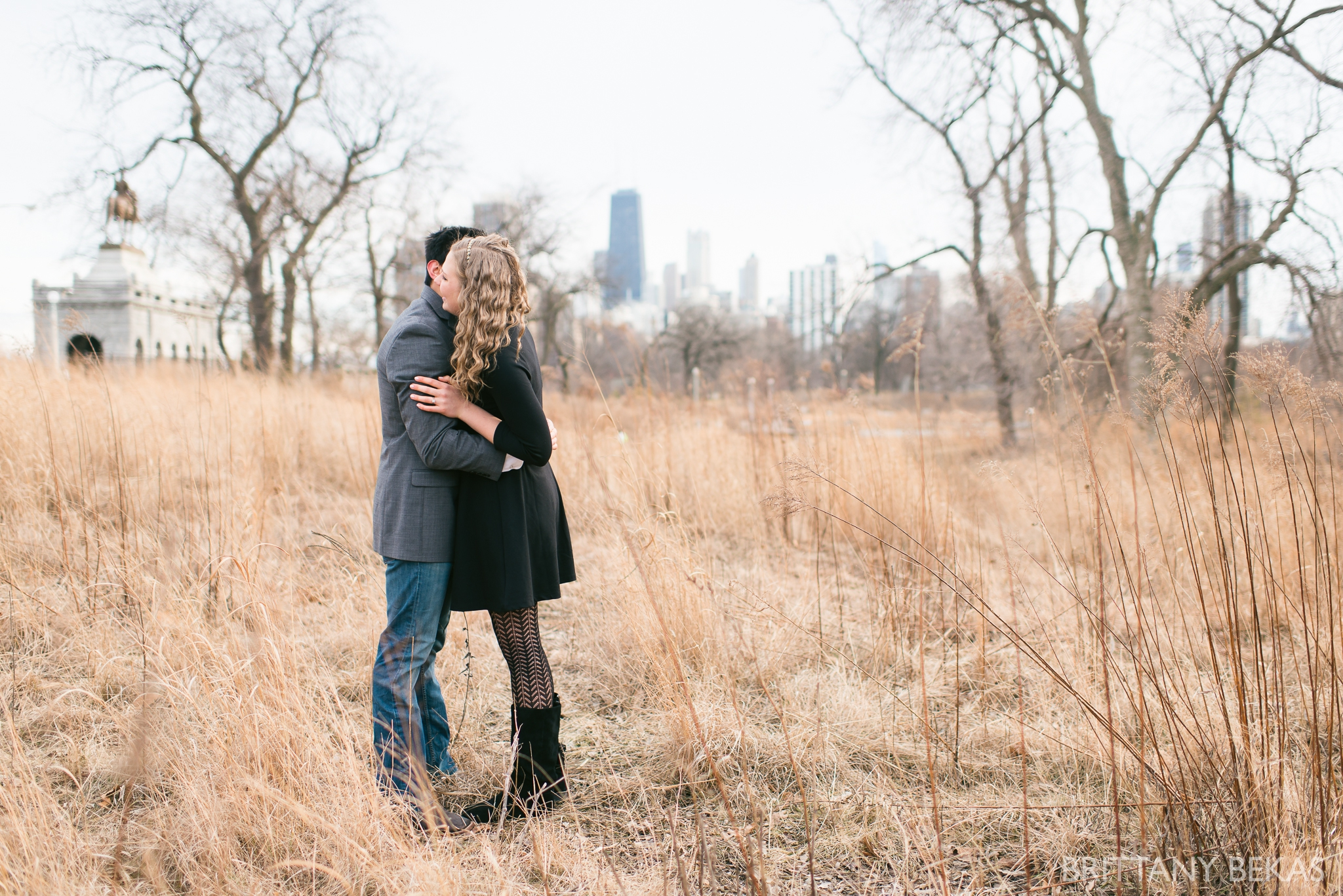 Chicago Engagement Lincoln Park Engagement Photos_0002