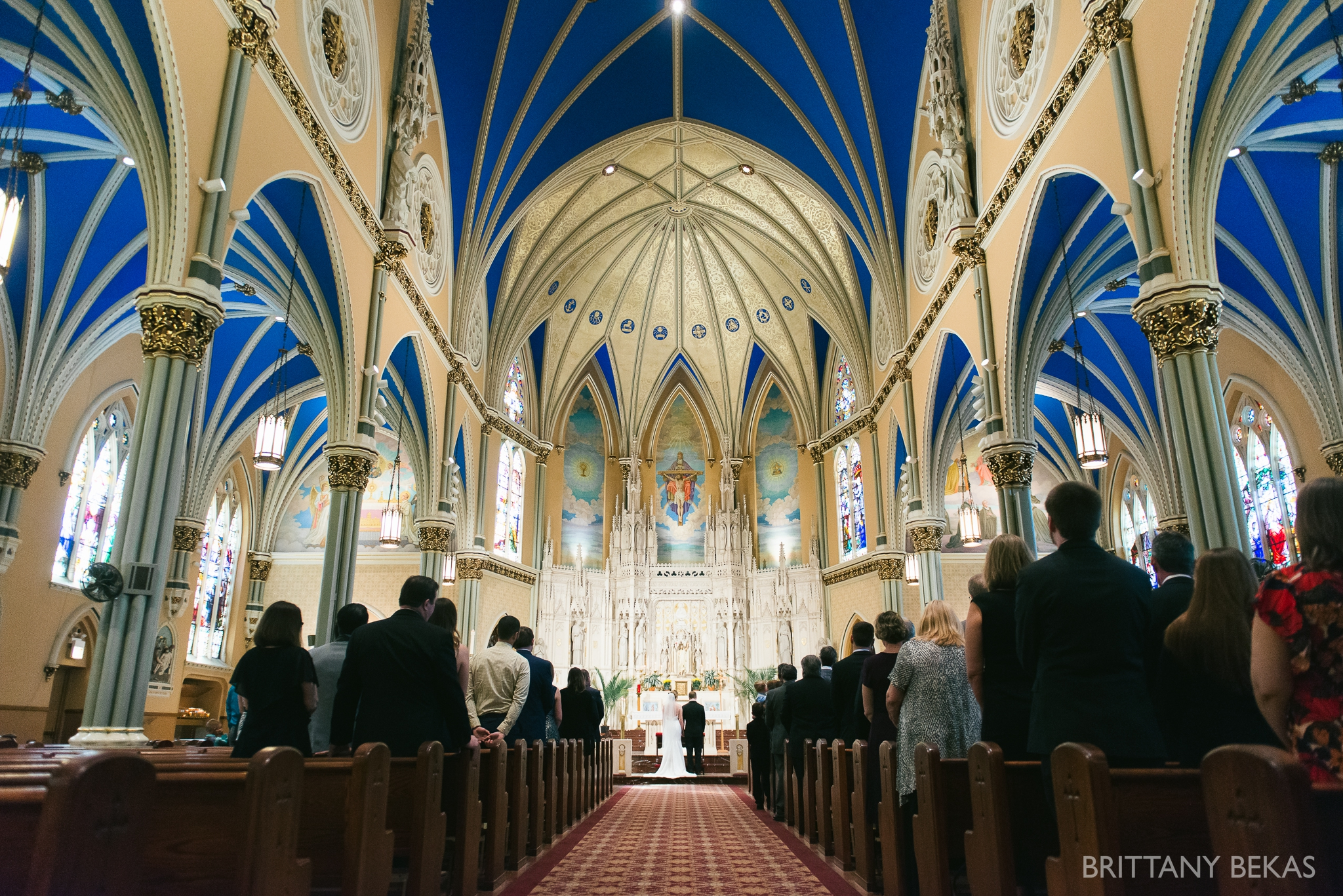 Chicago Wedding - St. Alphonsus + Galleria Marchetti Wedding Photos_0037