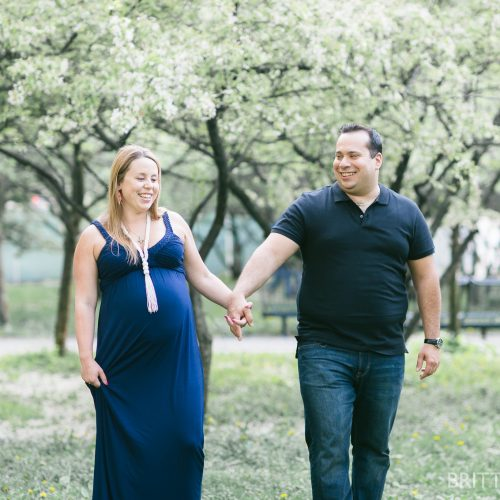 CHICAGO MATERNITY PHOTOS // JULIE + GEORGE
