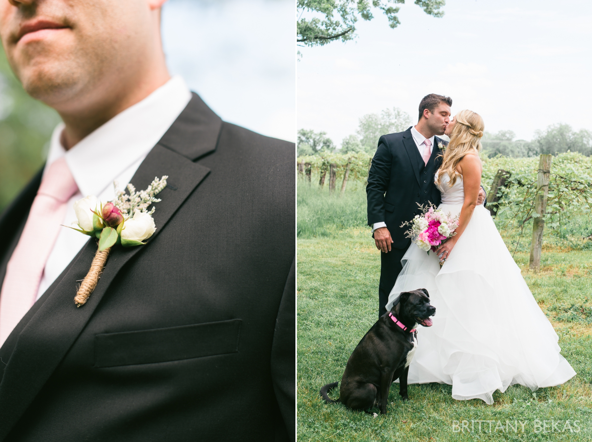 New Buffalo Wedding - Willow Harbor Vineyards Wedding Photos - Brittany Bekas Photography_0027
