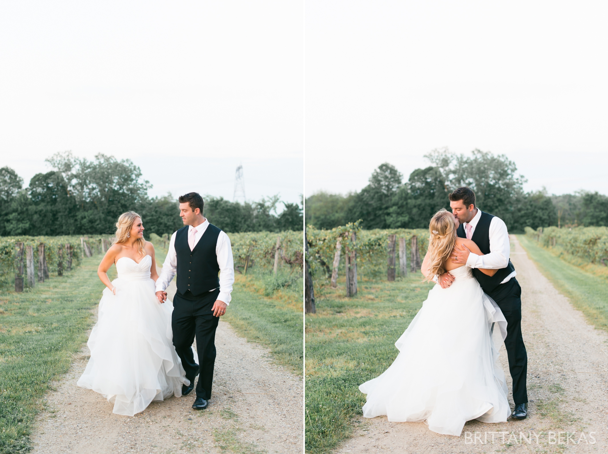 New Buffalo Wedding - Willow Harbor Vineyards Wedding Photos - Brittany Bekas Photography_0060