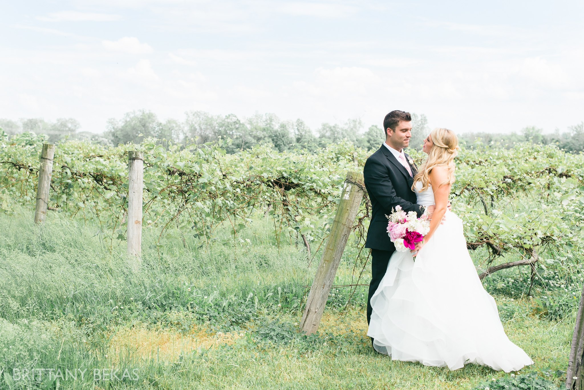 New Buffalo Wedding - Willow Harbor Vineyards Wedding Photos - Brittany Bekas Photography_0068