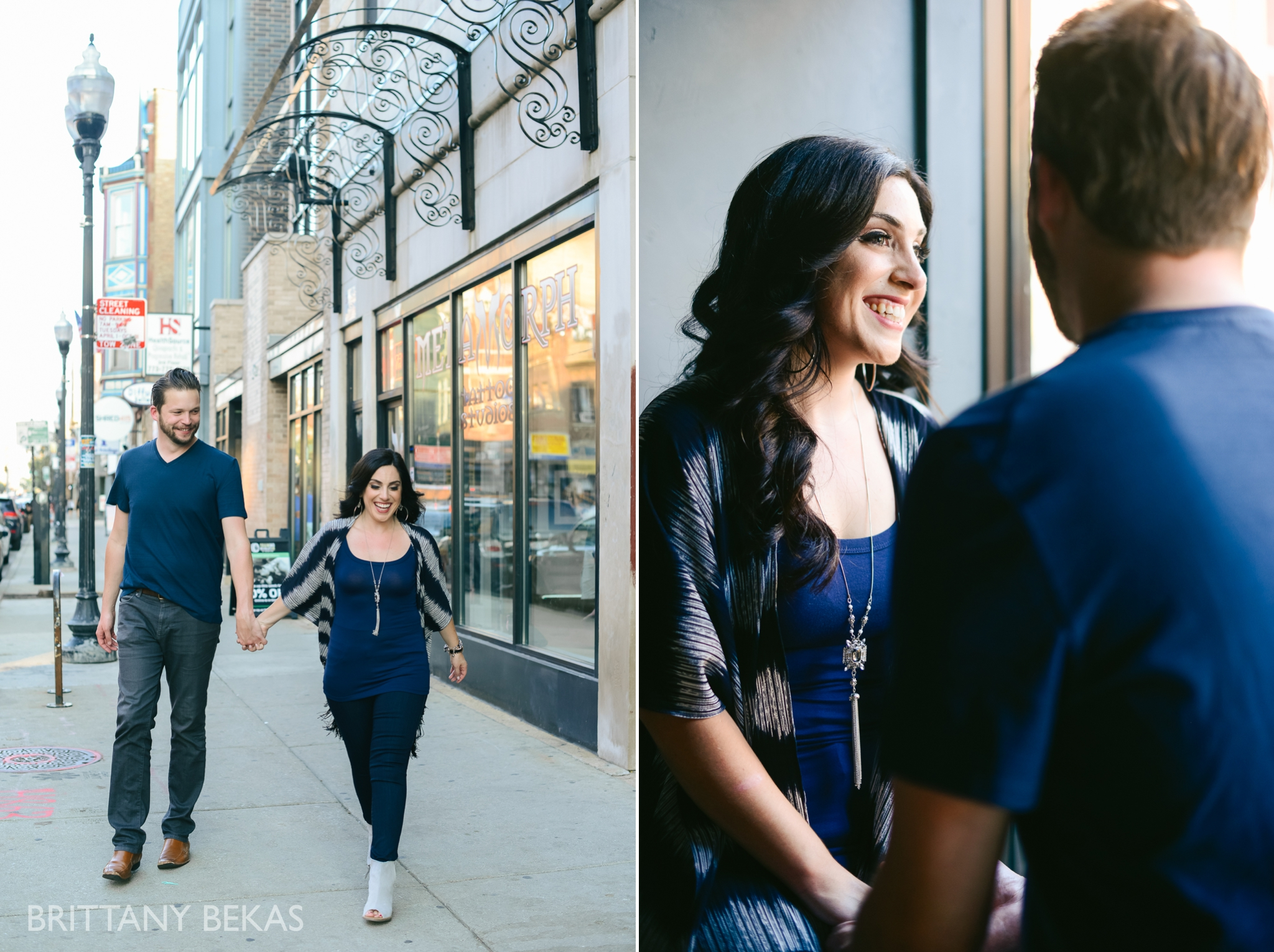 Chicago Riverwalk Engagement Photos - Brittany Bekas Photography_0005