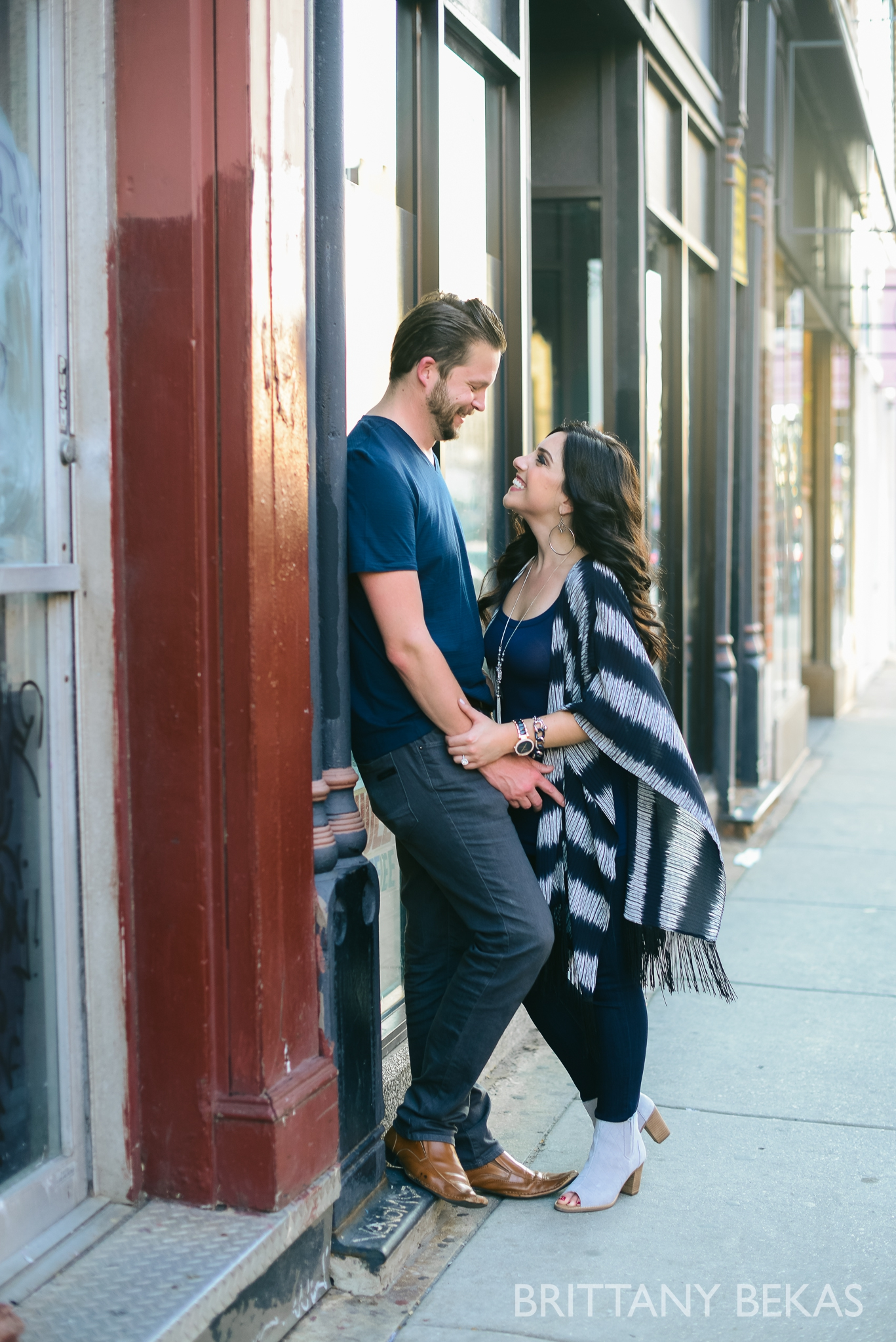 Chicago Riverwalk Engagement Photos - Brittany Bekas Photography_0006
