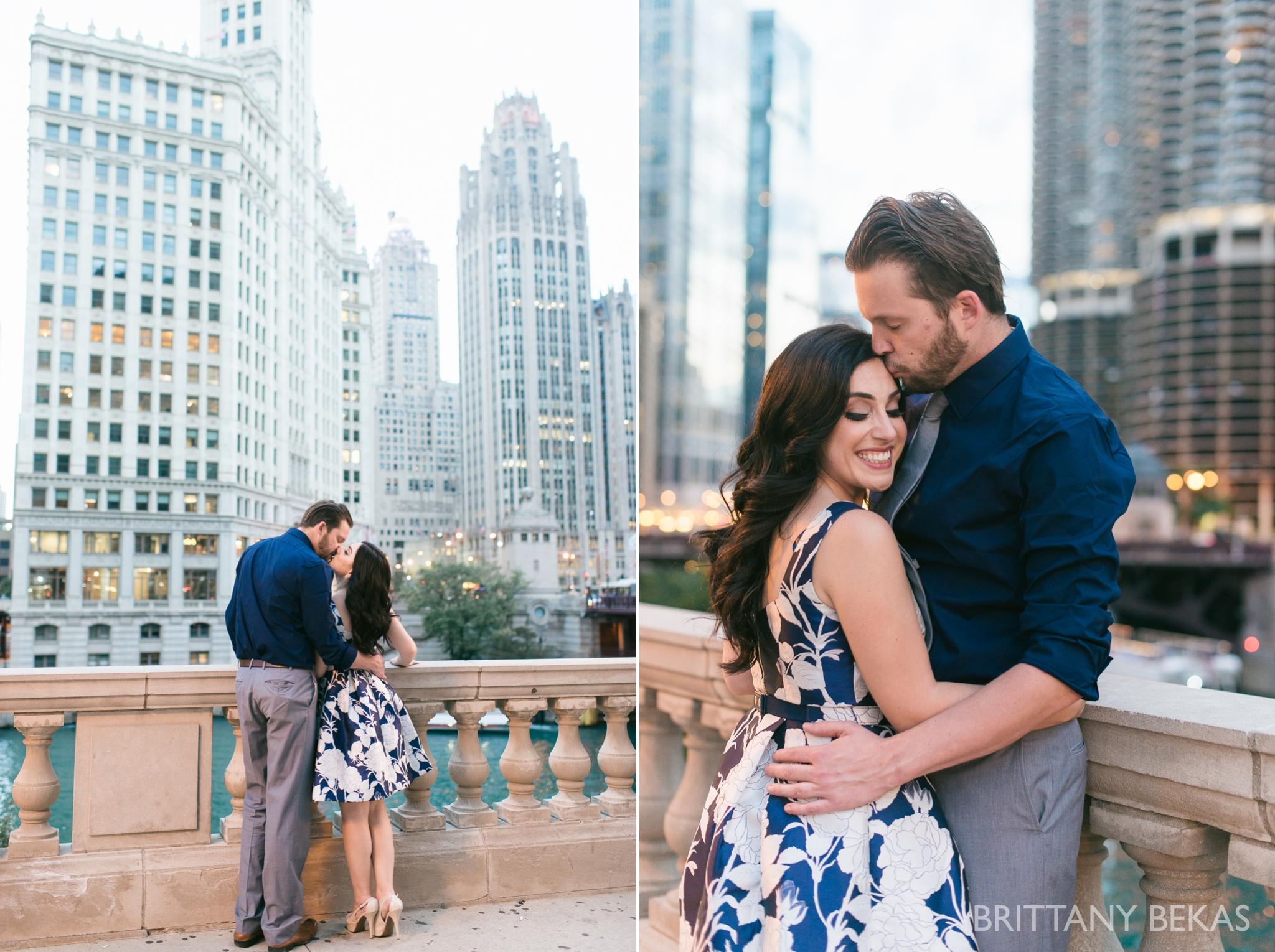 Chicago Riverwalk Engagement Photos - Brittany Bekas Photography_0009