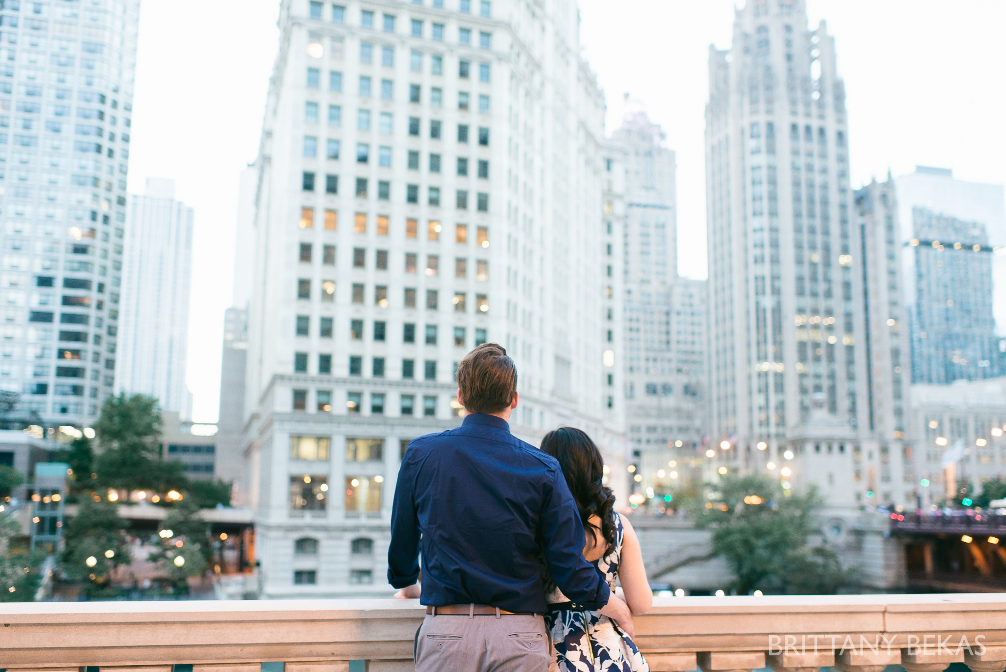 Chicago Riverwalk Engagement Photos - Brittany Bekas Photography_0012