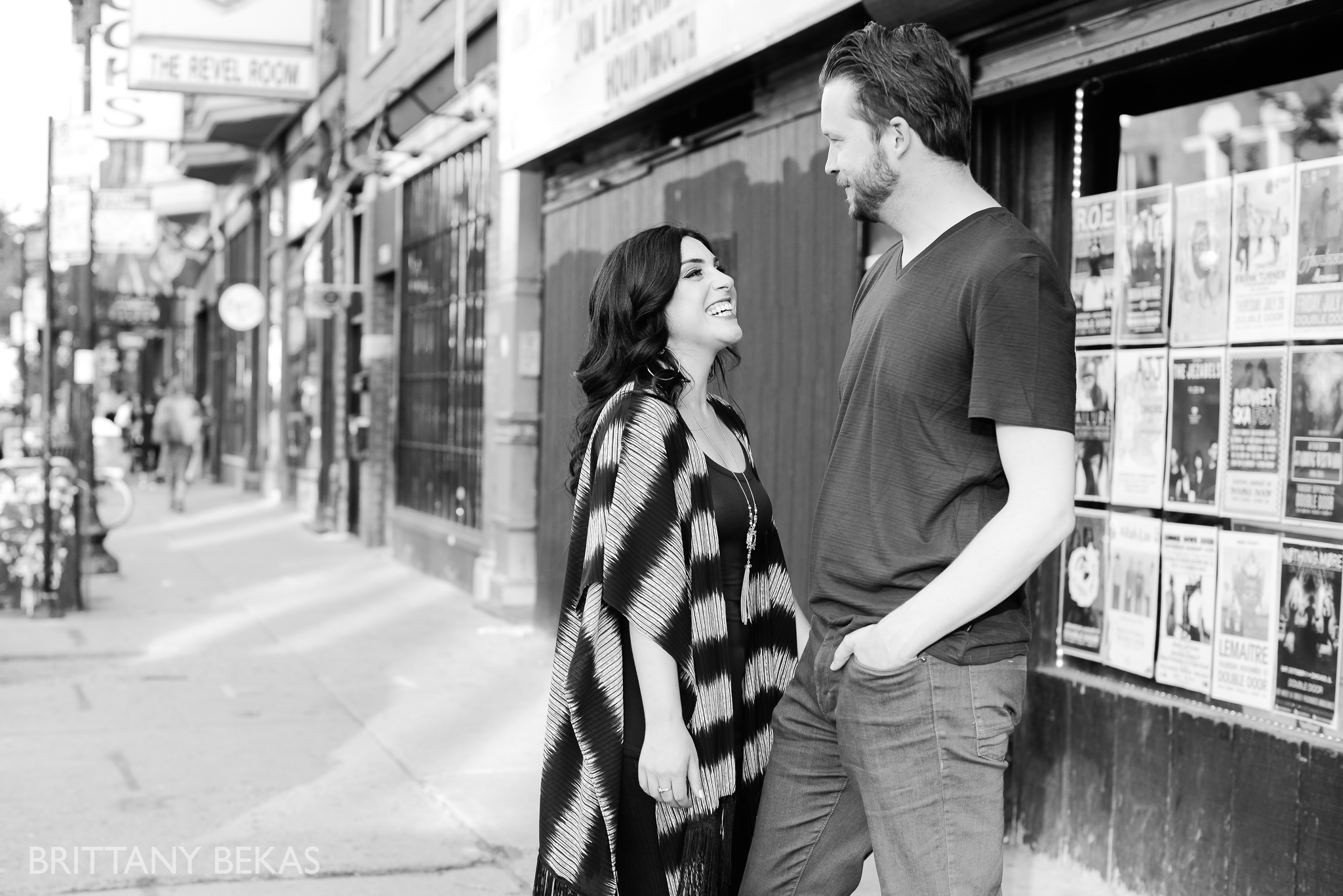 Chicago Riverwalk Engagement Photos - Brittany Bekas Photography_0013