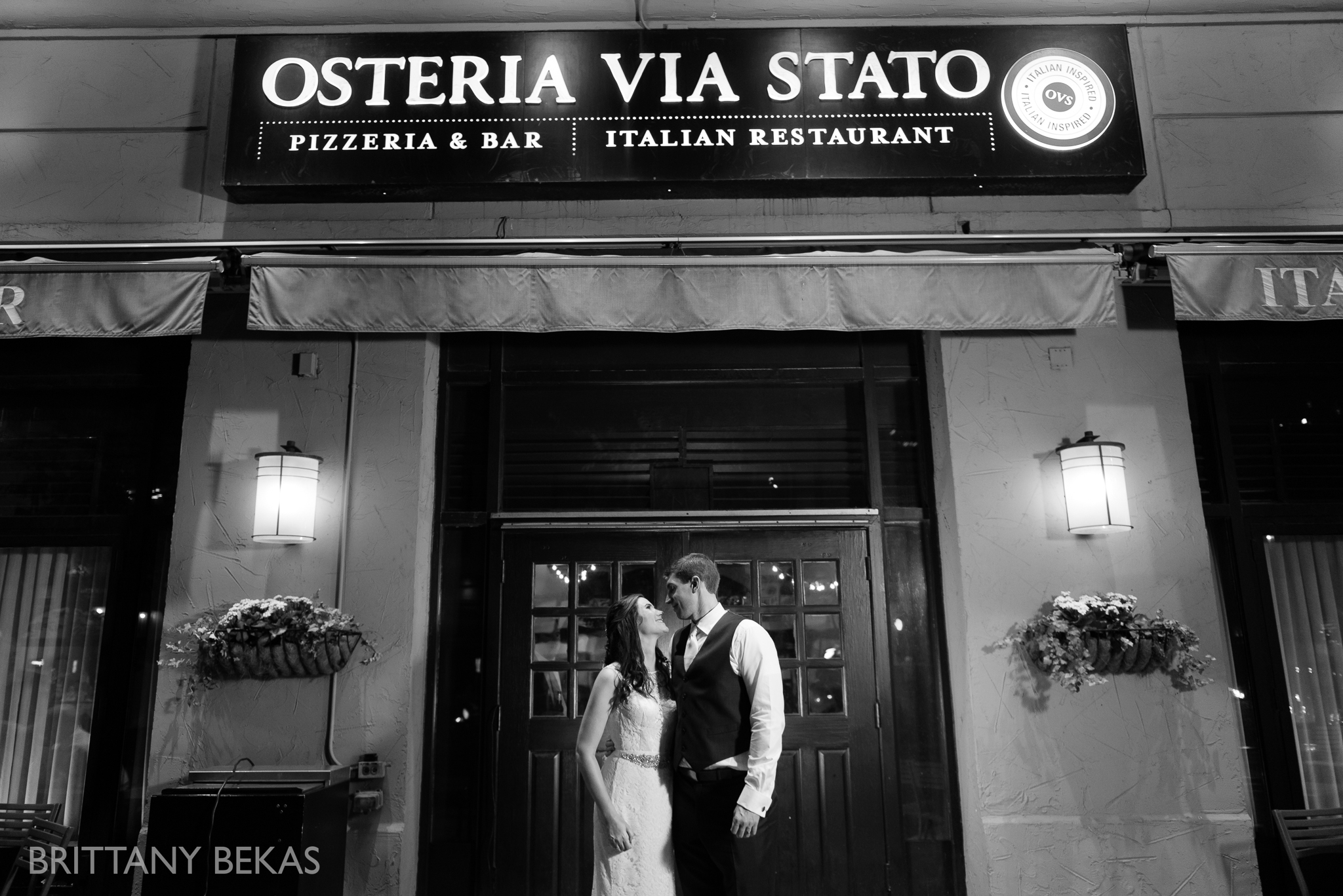 Chicago Wedding Photos Osteria Via Stato - Brittany Bekas Photography_0046