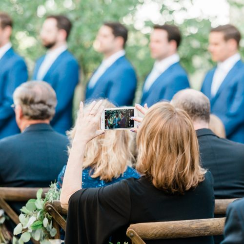 Why You Should Consider An Unplugged Ceremony (And How to Tell Your Guests)