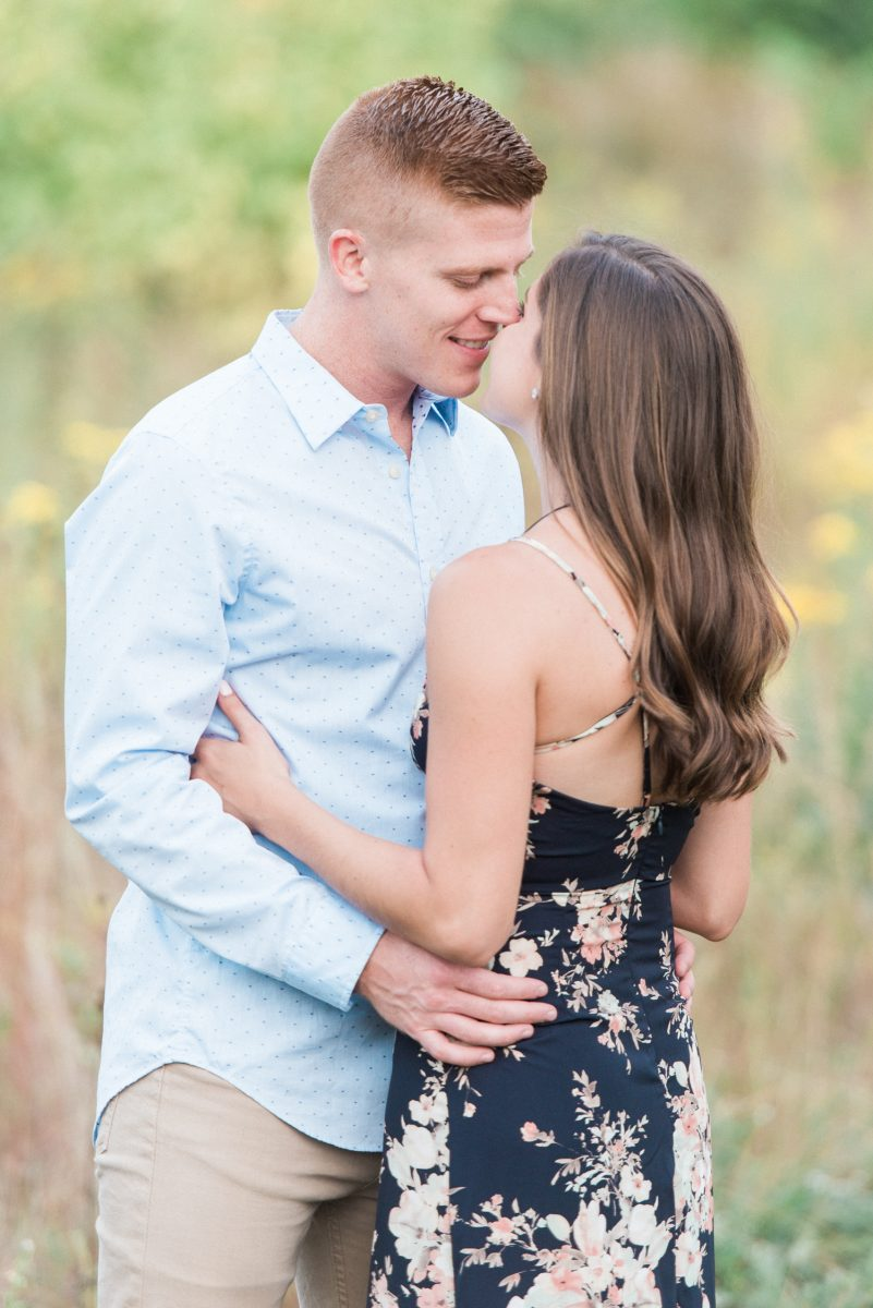 Chicago Light and Airy Engagement Photographer - What to wear Engagement Photos