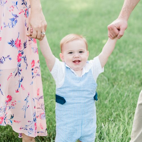 Chicago family photographer : St. James Farm one-year baby photos