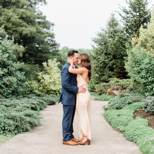 Chicago Botanic Garden Engagement Photos // Rachel + Chris